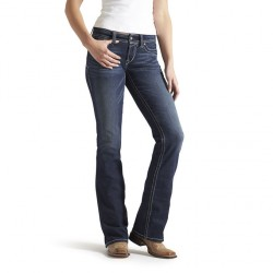 Ariat Real Boot Cut Whipstitch Riding  Jean